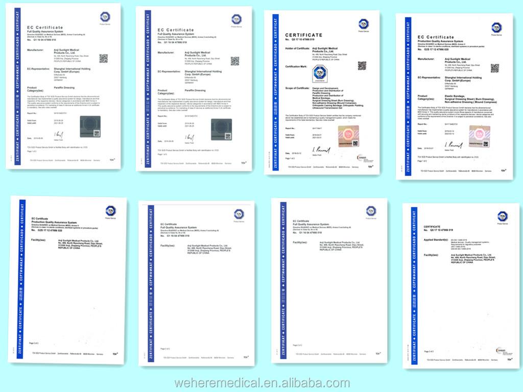 Medizinische sterile latex op-handschuhe gepudert/pulver kostenloser mit CE, FDA, ISO
