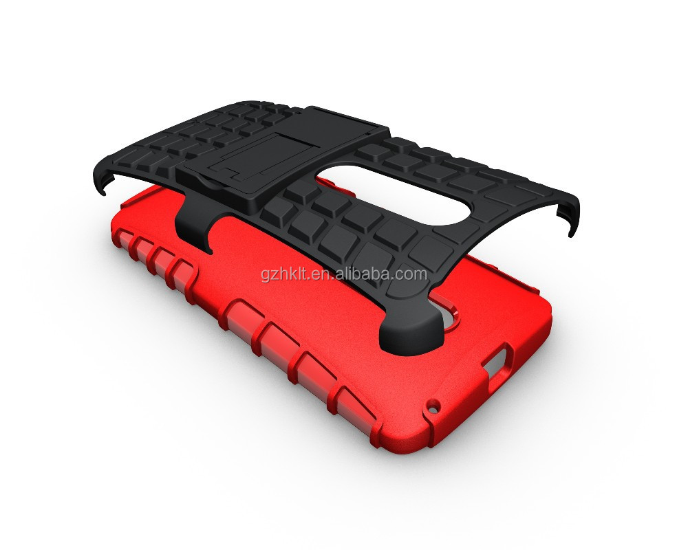 best quality shockproof kickstand sleeve phone case for moto X play case