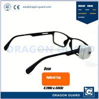 AM optical tag / Sunglass retail eas glass security tag / EAS optical detacher