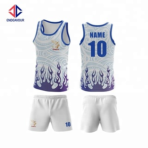 Custom your own touch football singlet set
