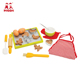 Kitchen cooking play toy pretend children cookies wooden baking kit for kids 3+