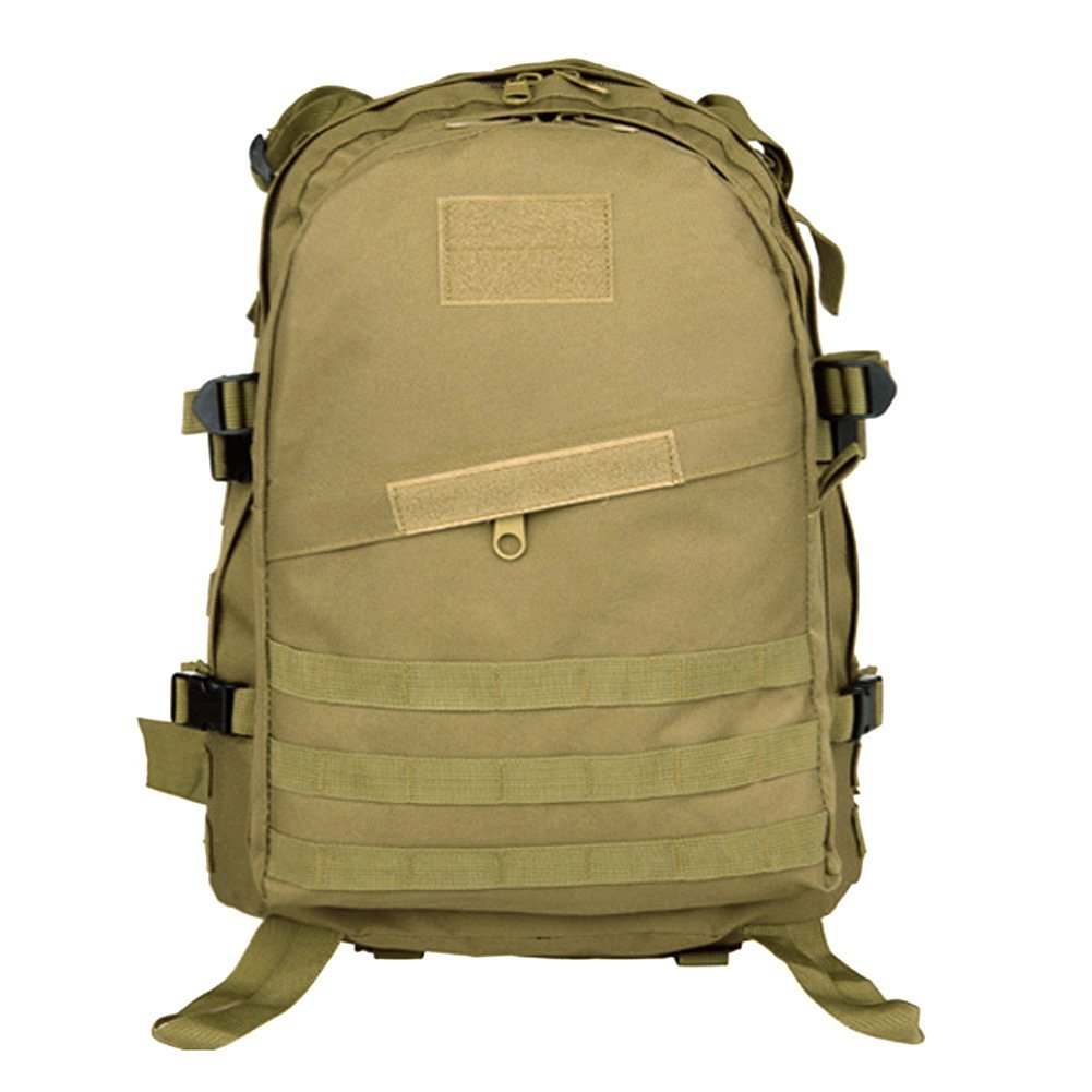 0f17bc790233 Koolertron Outdoor 40L 600D Waterproof Oxford Cloth Military Rucksack  Tactical Backpack Bag ACU Camouflage Sports Travelling