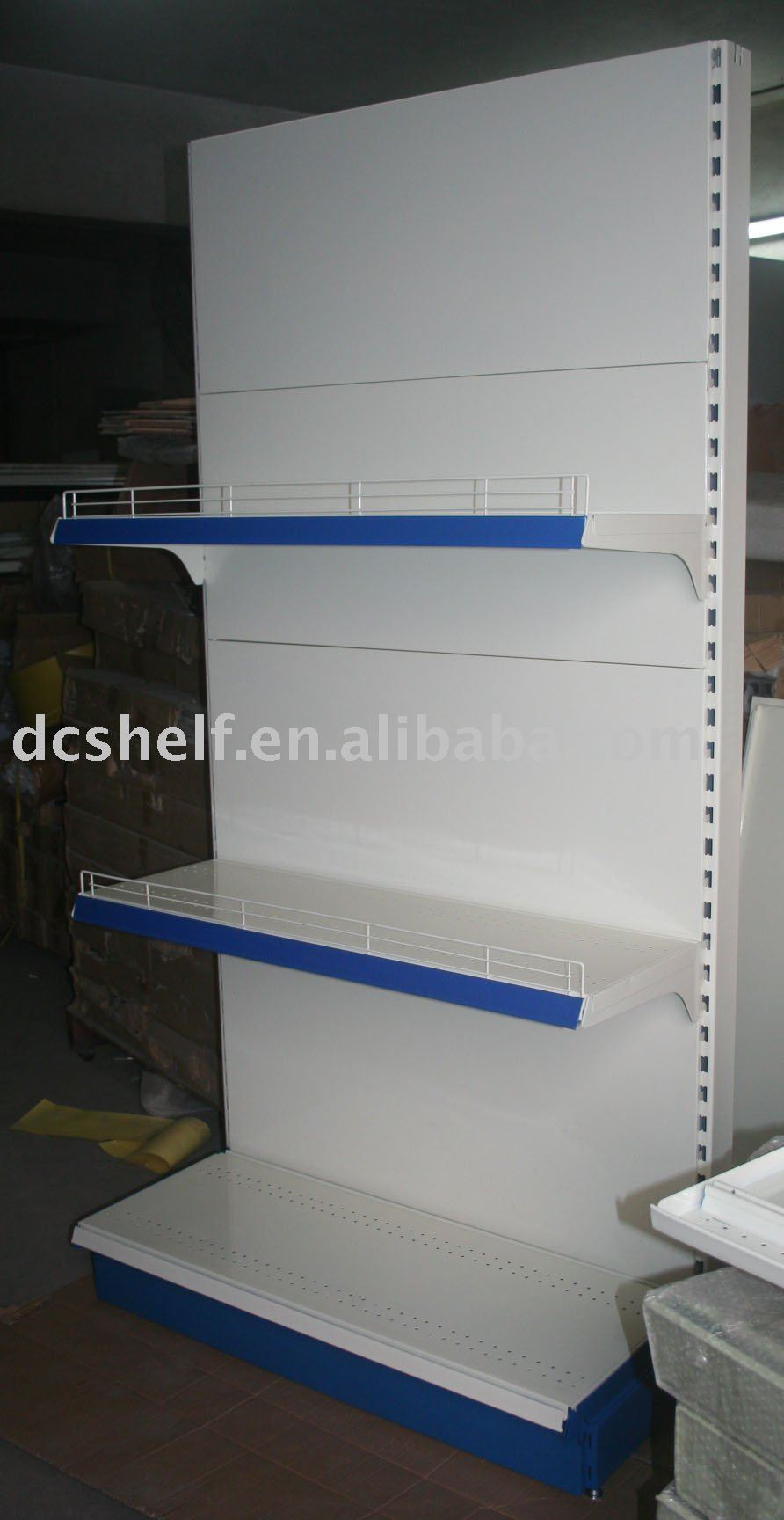 Supermarket Shelving with 120kg/shelf
