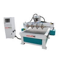 2,3,4,5,6,7,8,9,10 Spindle Multi Head Woodworking CNC Router Machine for Wood MDF Furniture Decoration Speaker Carving Cutting