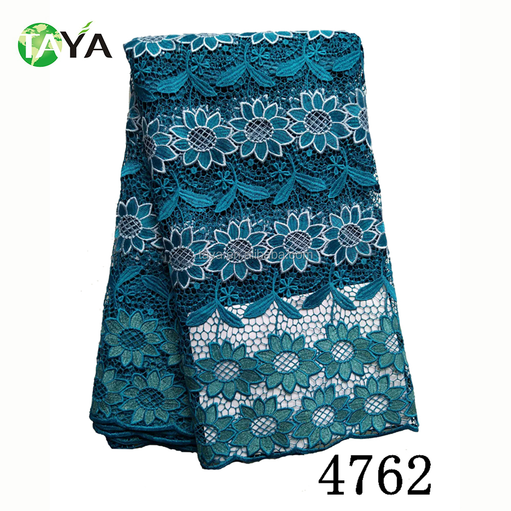 Latest African Cord Guipure African French Lace Fabric/ Latest Cord ...