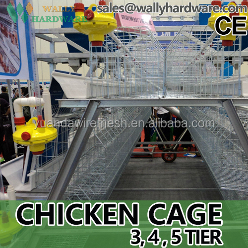 African market equipment chicken cage for sale / agricultural chicken house