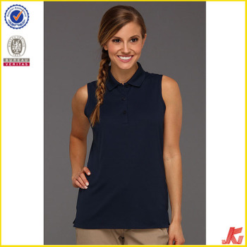 432a34177d22c1 Women Sexy Sleeveless Polo Shirts - Buy Women Polo Shirt