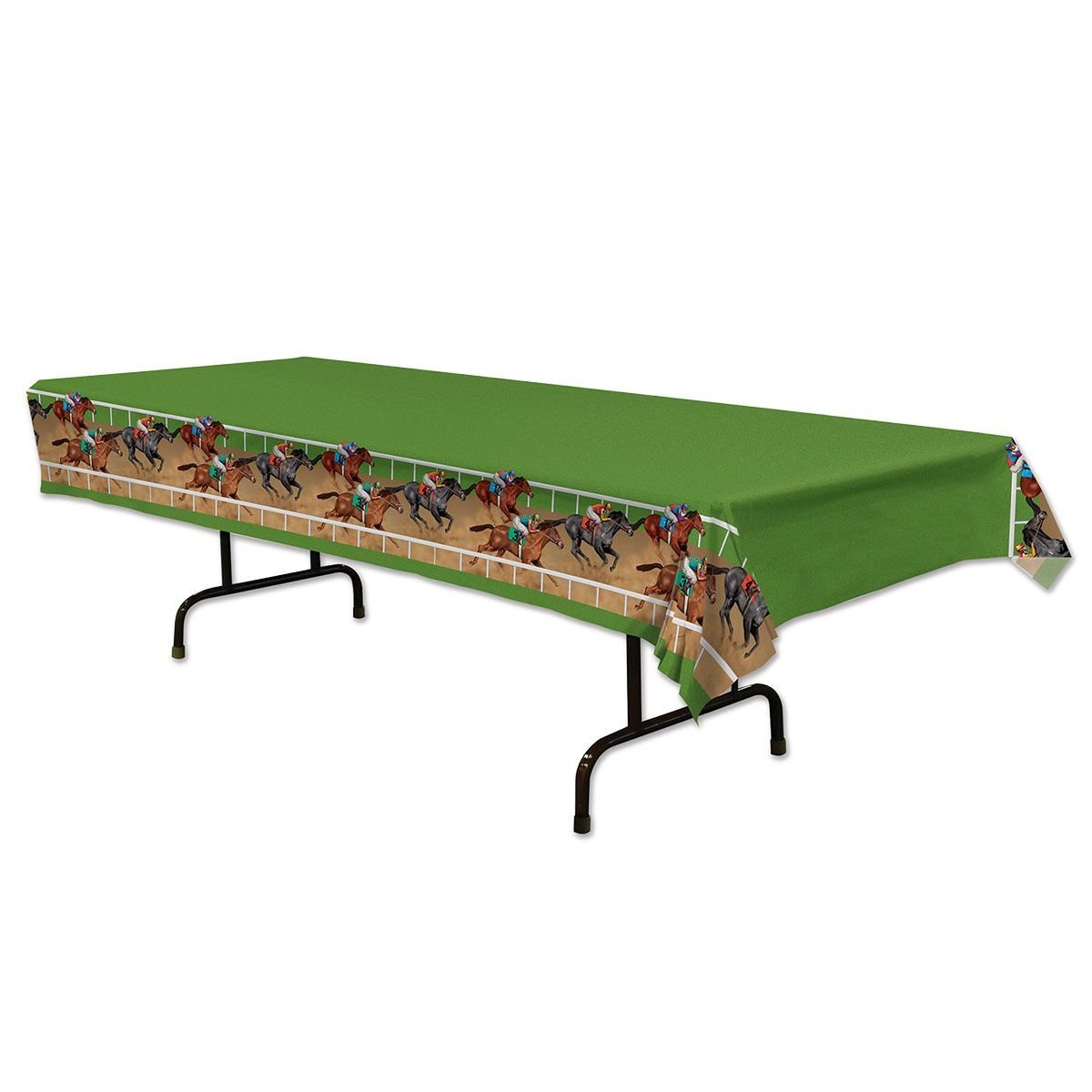 Horse Racing Table Cover