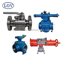 Pneumatic JIS DIN EN ISO Fireproof Expedite Delivery 3 Way Ball Valve