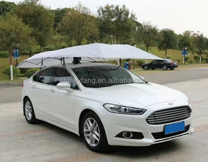 Factory Price automatic anti-theft car umbrella with strong light-proof function