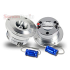 Aluminum Car Super Bullet Tweeter W/ Capacitor Car Audio Tweeter Speaker