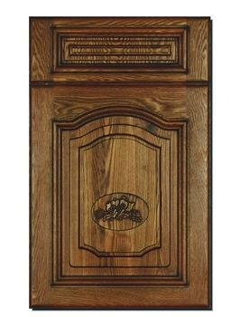 Attrayant 18mm Fancy Mdf Board Vinyl Wrapped Kitchen Cabinet Door Shutters
