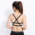 Sexy Women Hollow Back Midriff Shirt Tank Top Bra Wrap Vest Chest seamless Bra