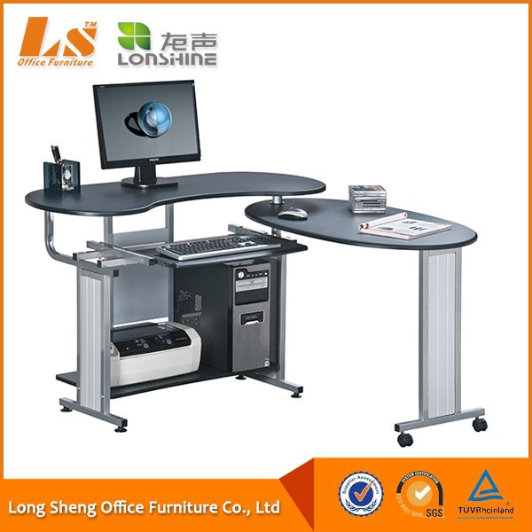 MDF Computer Table With Cabinet, View Computer Table, LONSHINE ...