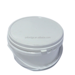 Promotional plastic rounded barrel food processing bucket for wholesale