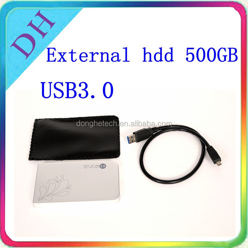 Customized logo portable 500 gb disque dur externe 3 to