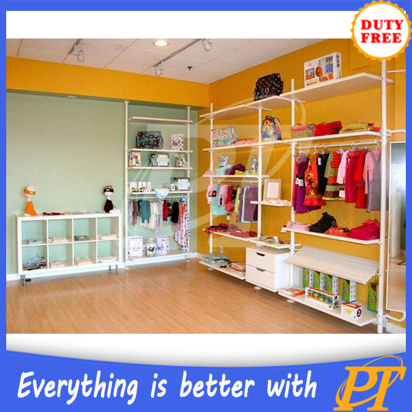 Cabinet Design For Clothes For Kids children's clothing store furniture baby clothes shop display