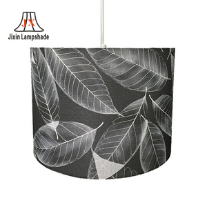 wholesale Manufacturer european drum fabric lamp shades Table Lamp
