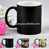 porcelain full color changing mug&magic mug , ink transfer ceramic mug