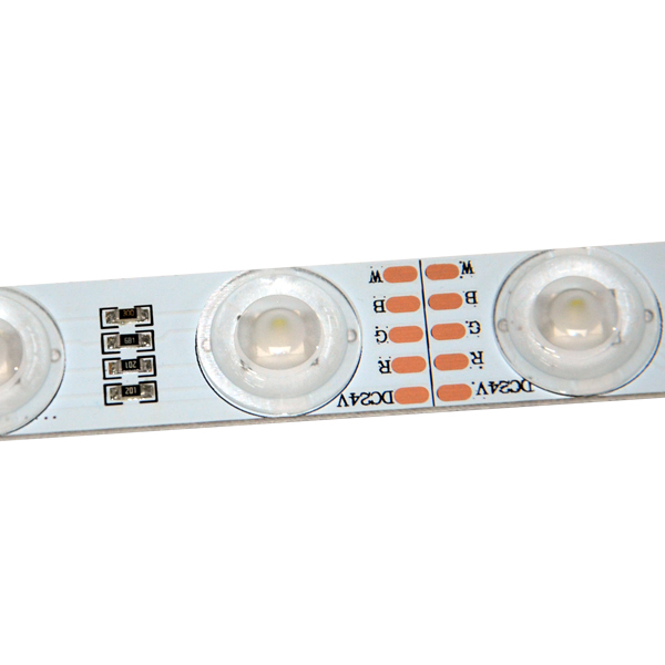Edgelight 24V ultra bright <strong>rgb</strong> led strip waterproof optical lens CE ROHS led 5050 <strong>rgb</strong>