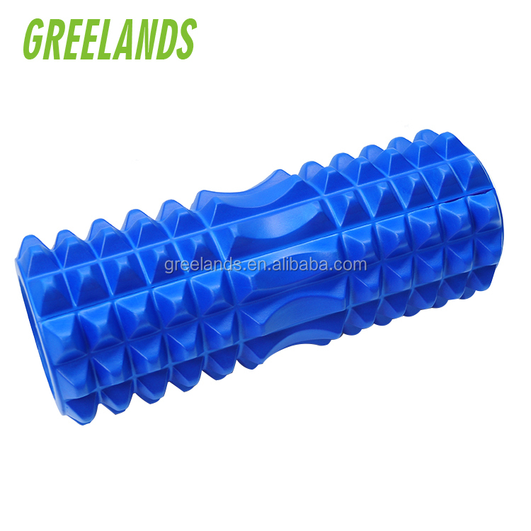 Crescent Textured Grid Revolutionary Device , Cellulite Massage Roller Muscle Roller , Myofascial Release Gym Colume Gym Roller