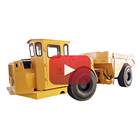 20 tons diesel centrally articulated underground mine dump truck UK-20 for sale