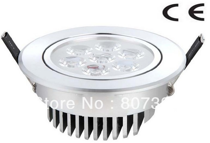 2 year warranty Epistar 7w Led Celling Lamp / 7w Led Downlight CE & RoHS
