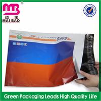 10x13 custom logo printing sealable polythene mail bag for money transportation