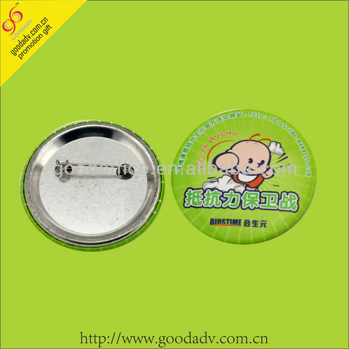 Guangzhou factory with Production capacity supply custom made tin badges