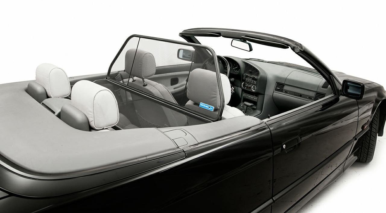 Wind Blocker Wind Deflector Black for BMW Z3 E36 Convertible 1995-2003 Windstop