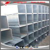 ATSM A500 building material Hot dipped galvanized square welded steel tubing