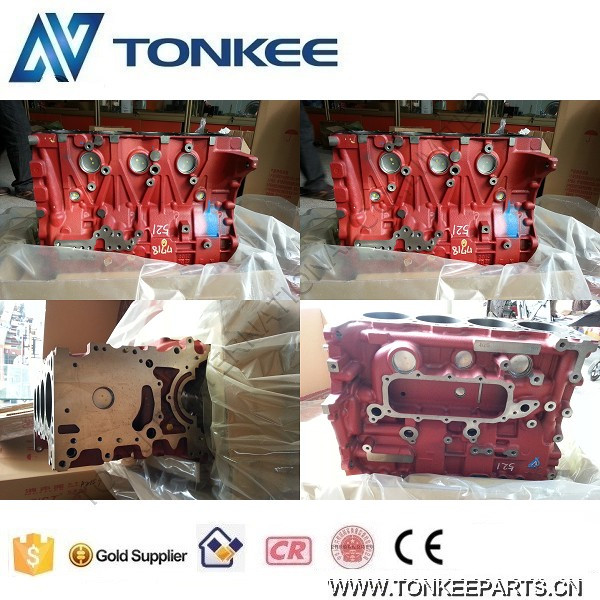 J05E engine block 11401-E0702 J05E cylinder block for SK200-8 SK250-8