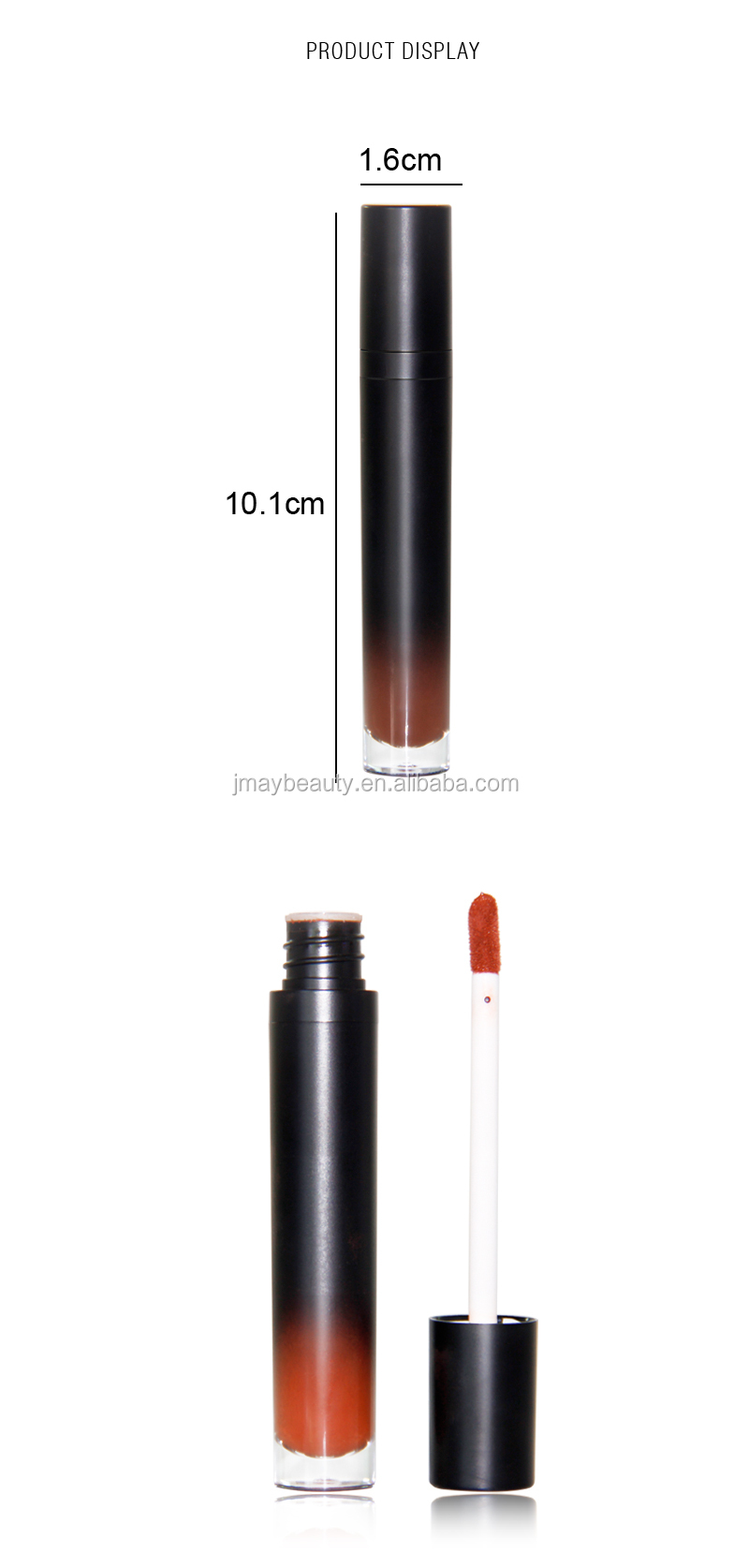 2018 No Logo High Pigment Lipgloss Liquid Lipstick Matte 12 Colors lip line best selling lipstick cosmetic