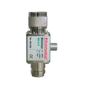 Stainless steel 10KA gas discharge tube male to female N connector RF surge arrestor