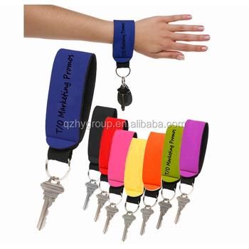 Key Holders Neoprene Wrist Key Holder