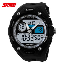 Customised watches SKMEI 1015 sport digital waterproof mens dress watches winner