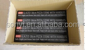 Food Security 3 Pieces Cordierite Refractory Pizza Oven Stone Set