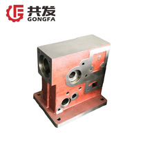 iron casting machining grey iron box casting