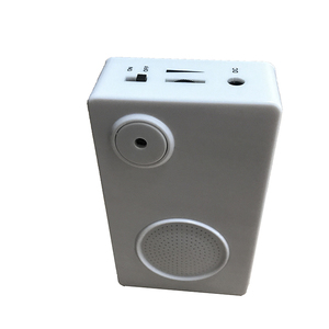 Motion sensor activated sound voice music box module for promotion and  supermarket