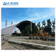 China Price Prefab Steel Truss Roof System Coal Storage Shed Steel Structure Single Layer Grid Space Frame