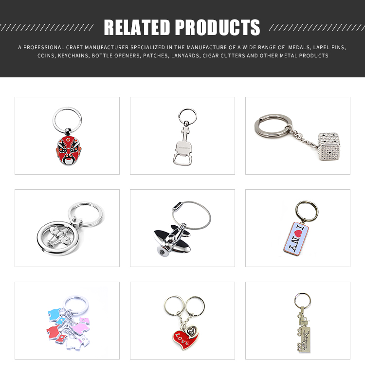 Metal Material And Metal Keychain Type Metal Blank Keychains