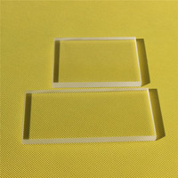 JD High Purity Clear Fused Silica Quartz Glass low Price Quartz Plate Glass