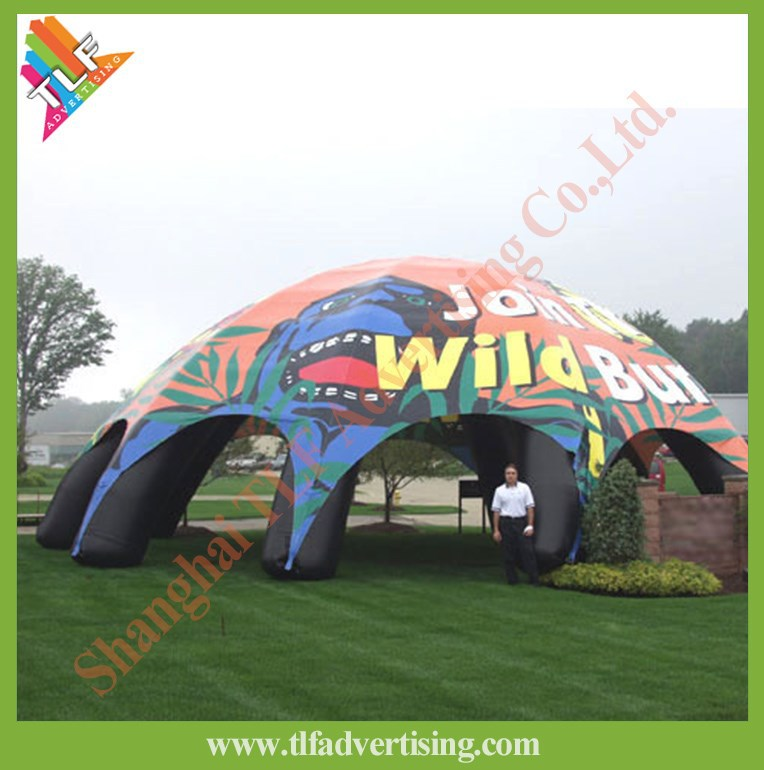 Promotional blow up marquees and tents inflatable spider dome