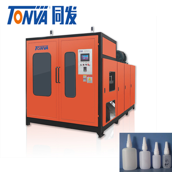 Pneumatic blow molding machine for the small plastic glue bottle