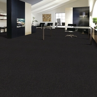 Commercial Modern Warm noiseproof brown office square carpet