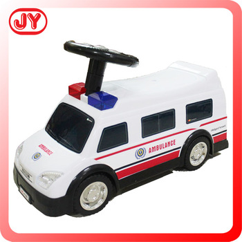 ambulance battery light and music children electric car price for kids to drive for kids rc