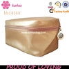 Gold Pouch Cosmetic Bag