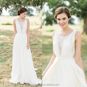 Simple Lace Wedding Dress Wholesale 4276dbe3369a