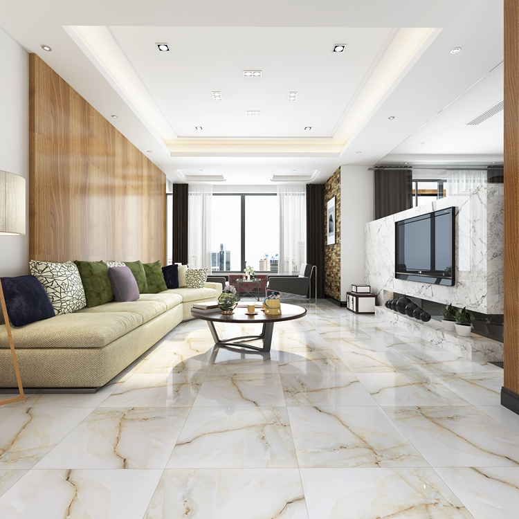 Vitrified Tiles Designs Living Room Tiles Porcelain Marble Looking
