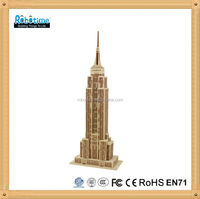 Robotime 3D Wooden puzzle toy -Empire State Building